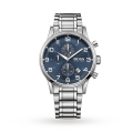 Men's Aeroliner Chronograph Stainless Steel Watch - BLUE
