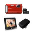 Digital Camera and Frame and Case with 32 GB Memory Card