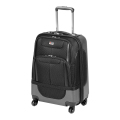 "24"" Carry-on Expandable Hybrid Spinner Luggage - BLACK"