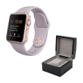 Aluminium Watch with Lavender Sport Band and Watch Box - ROSE GOLD