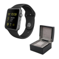 Aluminium Watch with Black Sport Band and Watch Box - SPACE GREY