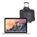 "MacBook Pro 13"" Retina Display with Mancini Wheeled Briefcase - ENGLISH"